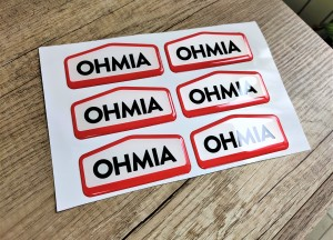 OHMIA doming stickers
