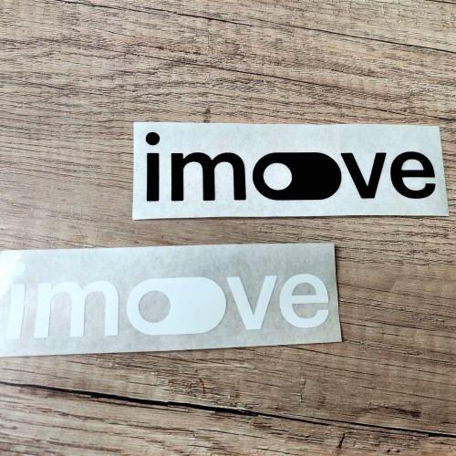 iMove PVC stickers