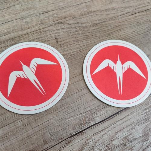Birds beer pads