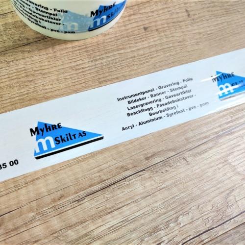 Myhre Skilt packaging tape