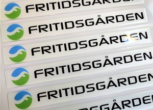 FRITIDSGARDEN doming stickers