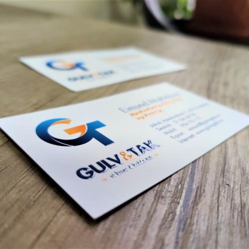 GULV & TAK business cards