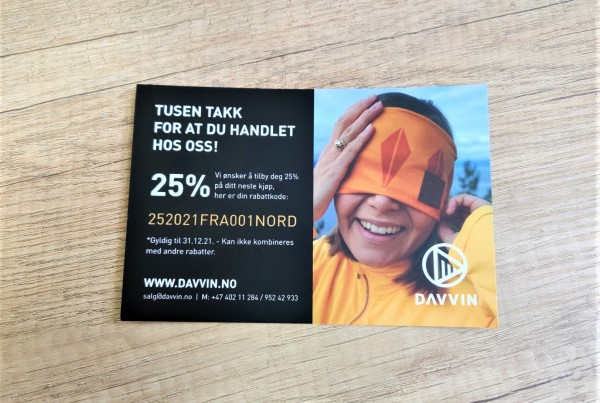 DAVVIN gift cards
