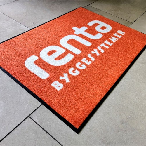 850 x 610 mm, Jet Print Light / Pantone: orange 021C, 100 % high twist nylon, Polyamid 6.6 - 100% Nitrile rubber